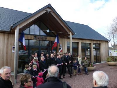 Inauguration mairie