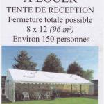 Location tente